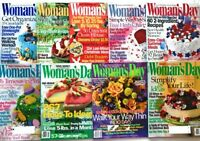 9 Woman's Day Magazines 2002 Decorating Ideas Health Diet Exercise Food Children