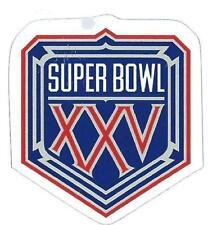 NY Giants Super Bowl XXV Logo Decal