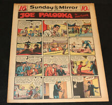 1950 Sunday Mirror Weekly Comic Section May 7th (Vf) Superman Action Abner