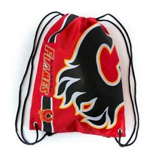 Calgary Flames Drawstring NHL Backpack by Forever Collectibles NWT FOCO Hockey
