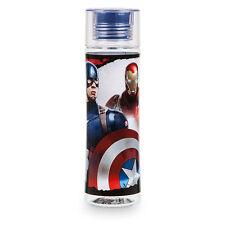 Disney Store Authentic Captain America & Iron Man Civil War Water Bottle 22oz