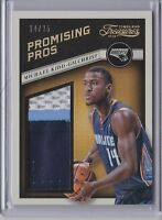 Michael Kidd-Gilchrist 2013-14 Panini Timeless Treasures Promising Pro Patch /25