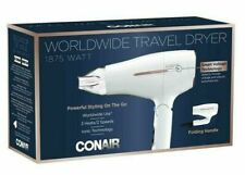 Conair Travel Hair Dryer with Smart Voltage & Folding Handle. NEW Damaged Box
