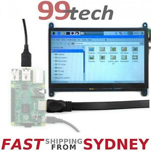 "7"" Inch LCD Touch Screen HDMI Display 800*480 Raspberry Pi 3&2, eParcel Sydney"