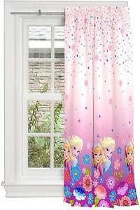 Disney Frozen Panel Drape Curtain Window Elsa Anna Kid Room Decor 42 New