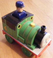 2004 Thomas The Engine Train Conductor Push & Go Train Tomy Gullane Green Vgc