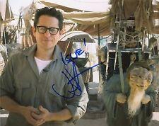 J.J. Abrams Autograph Signed 8x10 Photo Star Wars: The Force Awakens COA