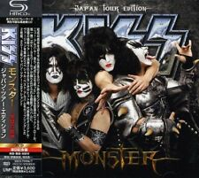 KISS MONSTER 2013 JAPAN TOUR EDITION 2 SHM CD SET w/Tracking# form JAPAN F/S NEW
