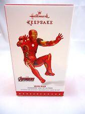 Hallmark Marvel Avengers: Age of Ultron Iron Man ornament 2015 Nib