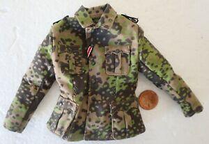 "Dragon 1/6th Scale WW2/WWII German Officers Camo Jacket ""Nico Hahn A"""