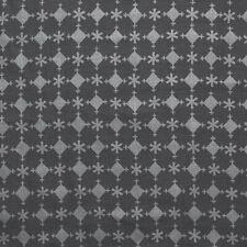 Anne Kirk Textiles 100% Belgian Linen Print Fabric- Koylu / Steel Silver 1 yd