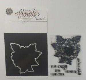 Hero Arts Florals Dahlia Stamps & matching die