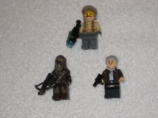 Lego Resistance Trooper minifigure plus Han Solo & Chewbacca minifigs!