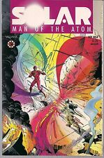 SOLAR MAN OF THE ATOM #4 VALIANT 11/91 EARLY PRE-UNITY ISSUE + ORIGIN PANELS NM-