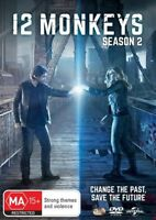 12 Monkeys Season 2 Two Second DVD NEW Region 4