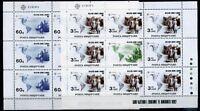 Albanien Kleinbogensatz MiNr. 2510-11 postfrisch MNH Cept 1992 (RS1238