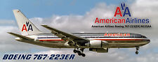 American Airlines Boeing 767 Photo Magnet (PMT1627)