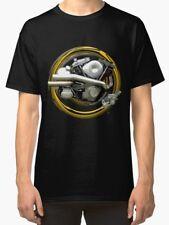 Harley Davidson Shovelhead Engine Vintage Moto T Shirt inished Productions