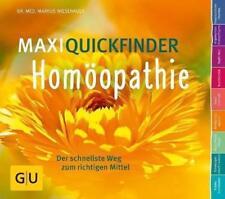MaxiQuickfinder Homöopathie von Markus Wiesenauer (2015, Taschenbuch)