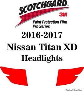 3M Paint Protection Film Pro Series Fits 2016 2017 2018 2019 Nissan Titan XD