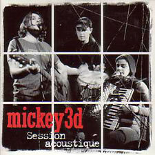 CD single Mickey 3d Session acoustique Promo 3 Tracks