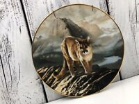 COUGAR W. S. George Hallmark collector plate CHARLES FRACE Good used condition