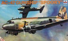 ESCI 1:72 AC-47 Gunship Spooky Plastic Model Kit #9012U