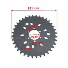6 Hole 36Tooth Rear Sprocket For 49cc 50cc 60cc 80cc Motorised Bicycle Push Bike