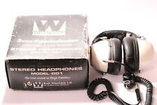 VINTAGE WHARFEDALE  2 WAY 4 SPEAKER SYSTEM PROFESSIONAL SERIES HEADPHONES NO.DD1
