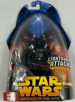 HASBRO STAR WARS REVENGE OF THE SITH DARTH VADER 2005 ACTION FIGURE NEW SEALED