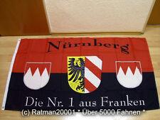 Bandiere BANDIERA Norimberga il nº 1 franchi da fan - 90 x 150 cm