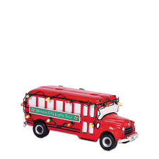 Dept 56 CHRISTMAS LIGHTS TOUR BUS 55267 Accessory Snow Village NEW D56 SV