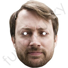 David Mitchell Celebrity Card Mask - The Peep Show All Our Masks Are Pre-Cut!