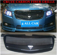 New Carbon Fiber Grille Grills For CHEVROLET CHEVY HOLDEN CRUZE 2009-2014