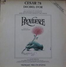 PROVIDENCE CESAR 78 ALAIN RESNAIS PEMA MUSIC 1978 SOUNDTRACK  FRENCH LP