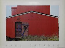 Iceland Reykjavik Red House Salon by Paul Calabro Original Signed PhotoLitho1982