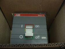ABB Model:  SACE S3 ISOMAX Circuit Breaker, Type S3N <K