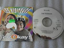 CD-LES VISITEURS-C'EST OK-JEAN RENO/CHRISTIAN CLAVIER-(CD SINGLE)-1993 2TRACK