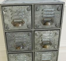Vintage Industrial Metal Cabinet 8 Draw Retro style Storage Furniture