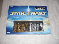 2003 Parker Brothers Star Wars Episode II Attack of The Clones Chess Set MISP