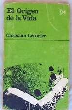 El origen de la vida-christian leourier-ed. Istmo 1970-ver index