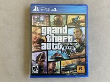 New listing Ps4 Video Game Grand Theft Auto V 5 Brand New And Sealed Ps4 Nib