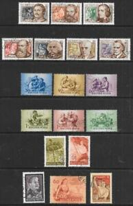 HUNGARY - 3 x Sets + 3 x Singles, Used - 1953/54 Issues