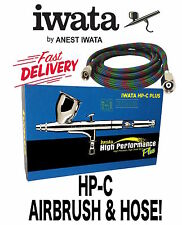 Iwata Airbrush Hp.c Plus HP CP 3mm Kit Auto Body Art Illustrator DIY Gravity