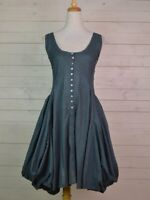 GORGEOUS HANDKERCHIEF DRESS  BY BOHEMIA OF SWEDEN. RRP £75 SIZE M OR L