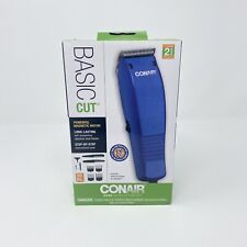 Conair Basic Cut Home Hair Cutting Kit Blue 10pc Set Haircut Kit Grooming NEW