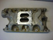 OFFENHAUSER 360 INTAKE MANIFOLD FORD 351 WINDSOR SBF ALUMINUM RACE OFFY VINTAGE