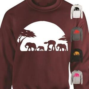 Sunset Star Wars SweatShirt Top Hipster Tumblr Printed Sweater