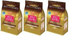 3 pack Meiji Amino Collagen Premium 214g Refill from Japan