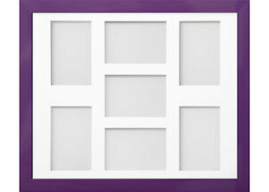 Frame Company Candy Purple Multi Aperture Collage Photo frame & Mount